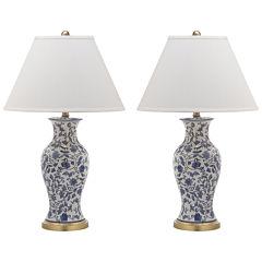 Safavieh Beijing Floral Urn Lamp
