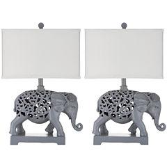 Safavieh Hathi Sculpture Table Lamp