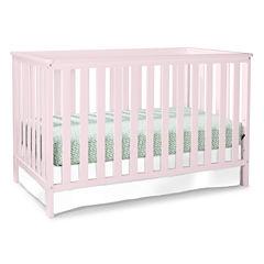 Storkcraft Roseland 3-in-1 Convertible Crib - Pastel Pink