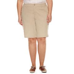 Liz Claiborne Woven Bermuda Shorts