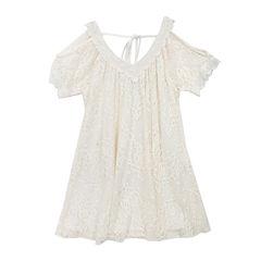 Rare Editions Lace Dress - Girls 7-16