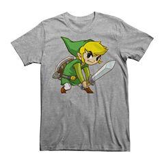 Zelda Link Short-Sleeve Tee