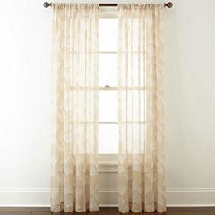 Home Expressions™ Orlando Rod-Pocket Sheer Curtain Panel