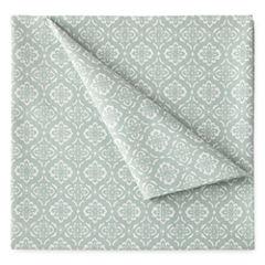 JCPenney Home™ 300tc 100% Cotton Ultra Soft Print Sheet Set