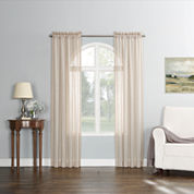 Fantina Rod-Pocket Curtain Panel