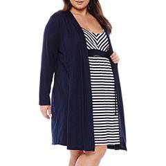 Spencer Maternity Nursing Chemise & Robe Set - Plus