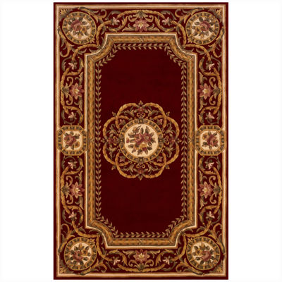 Momeni® Atlantis Hand Carved Wool Rectangular Rug