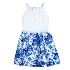 by&by girl Sleeveless Dress Set - Big Kid