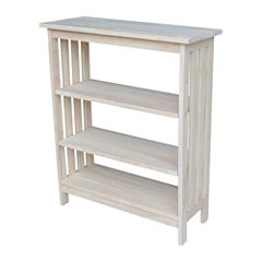 Mission 4-Shelf Bookshelf
