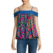 Nicole By Nicole Miller Off The Shoulder Trim Top