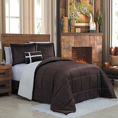 Avondale Manor Micro Sherpa 4Pc Comforter Set