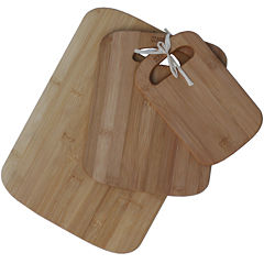 Oceanstar 3-pc. Bamboo Cutting Board Set