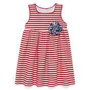 Marmellata Sleeveless Striped Sundress - Baby Girls 3m-24m