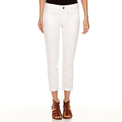 a.n.a® Rolled Cropped Jean
