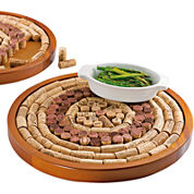 Wine Enthusiast® Round Wine Cork Board