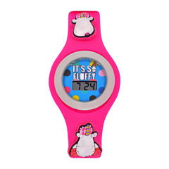 Universal Despicable Me Girls Pink Strap Watch-Dsm4016jc