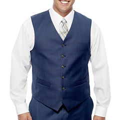 Stafford Travel Wool Blend Stretch Suit Vests Big and Tall