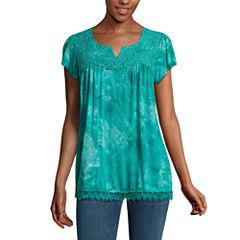 One World Apparel Short Sleeve Scoop Neck T-Shirt