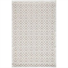 Momeni® Platinum Textured Circles Runner Rug