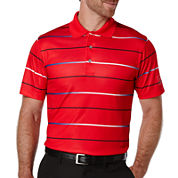 PGA TOUR® Short-Sleeve Gradient Stripe Golf Performance Polo