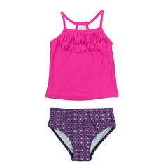 Carter's Girls Pattern Tankini Set - Baby
