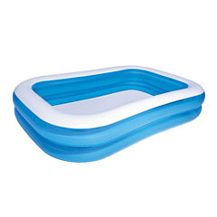 Bestway Blue Rectangular Family Pool 8.5 feet x 69inches x 20 inches