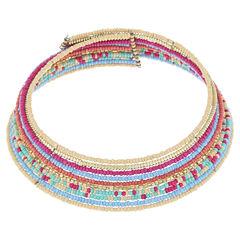 Decree Womens Collar Necklace