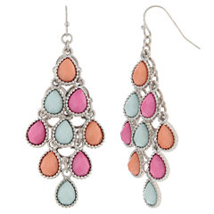 Decree Multi Color Drop Earrings