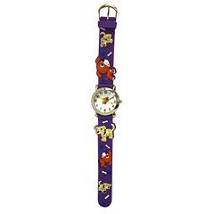 Olivia Pratt Kids Purple Dog Strap Watch-17195