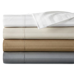 Royal Velvet® 500tc Damask Stripe Split King Sheet Set