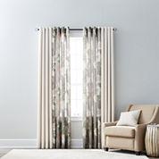 JCPenney Home Quinn & Farrah Grommet-Top Curtain Panels