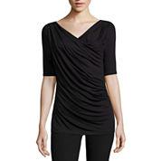 Worthington Short Sleeve Scoop Neck T-Shirt
