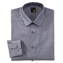 JF J. Ferrar Cotton Dress Shirt - Slim Fit
