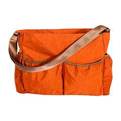 Trend Lab® Crinkle Tote Diaper Bag- Orange
