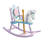 Levels of Discovery® Carousel Rocking Horse Chair
