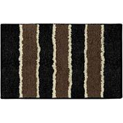 Bathtopia Herald Stripe Rectangular Bath Rug Collection