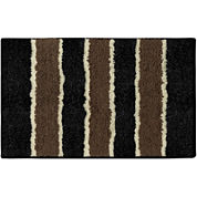 Bathtopia Herald Stripe Rectangular Bath Rug Collection
