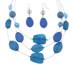Mixit Womens 2-pc. Necklace Set