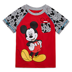 Disney By Okie Dokie Mickey Mouse Graphic T-Shirt-Toddler Boys