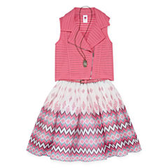 Total Girl 2-pc. Jacket Dress Big Kid Girls