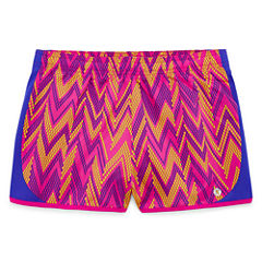 Xersion Pattern Running Shorts - Big Kid Girls