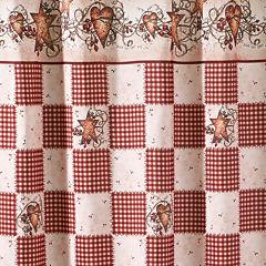 Avanti® Hearts & Stars Shower Curtain