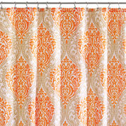 Intelligent Design Sydney Damask Shower Curtain