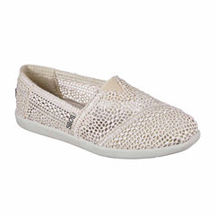 Skechers Daisy And Dot Womens Slip-On Shoes