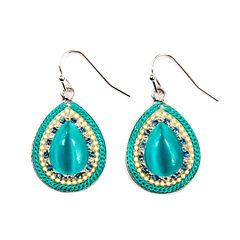 Arizona Blue Drop Earrings