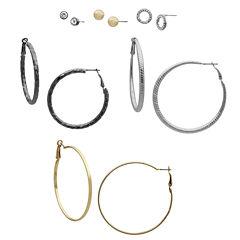 Bold Elements 6-pc. Earring Sets