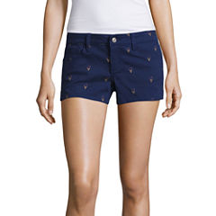 Sound Girl Ice Cream Print Shortie Shorts Juniors