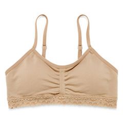 Maidenform Ruched Crop Bra - Girls