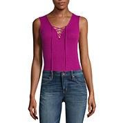 a.n.a Lace Up Bodysuit