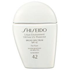 Shiseido Urban Environment Oil-Free UV Protector Broad Spectrum SPF 42 For Face
